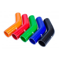 Silicone Reducer Elbow 45' 51/70mm